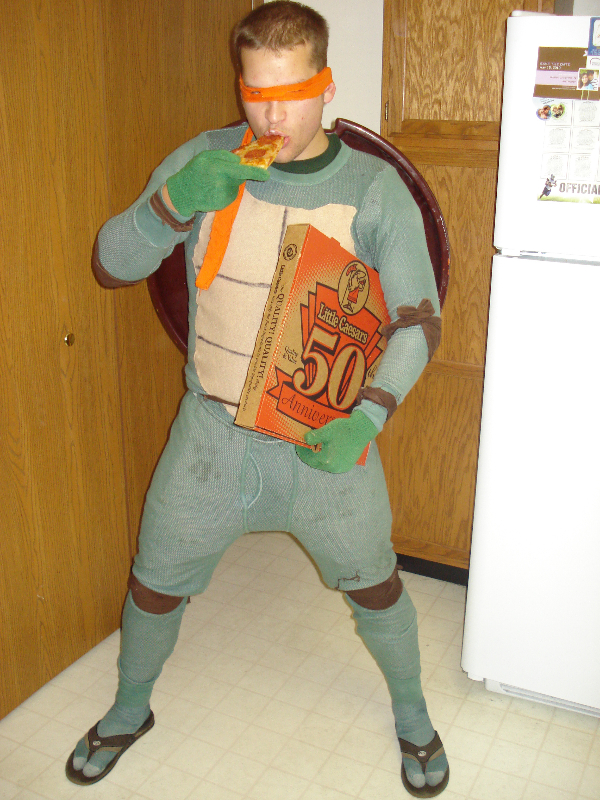 Ninja Turtle | Frank Sikorski | Always Eating & Wearing Flip Flops