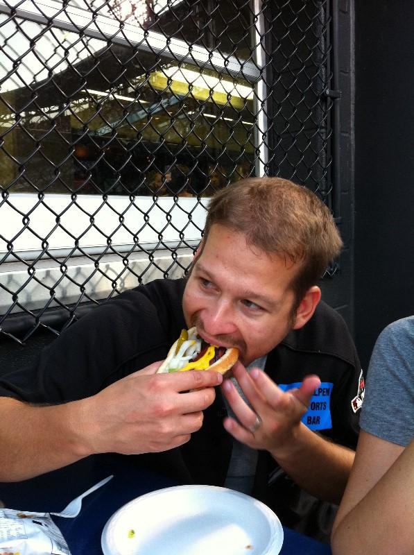 Frank Sikorski Loves Hotdogs